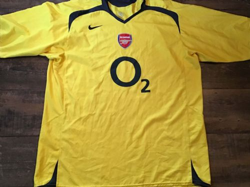 2005 2006 Arsenal Away Football Shirt 3XL
